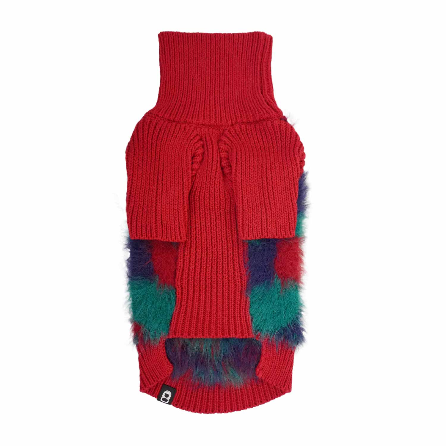 MONSTER SWEATER - RED