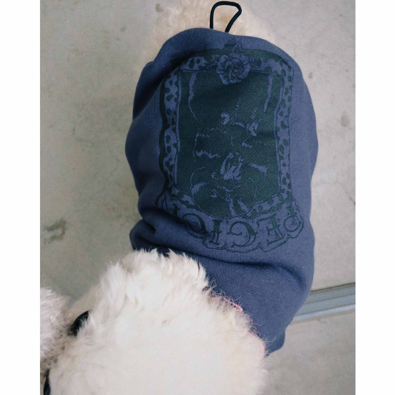 COOKIEBOY×PEGION POODLE DOG PARKA NAVY