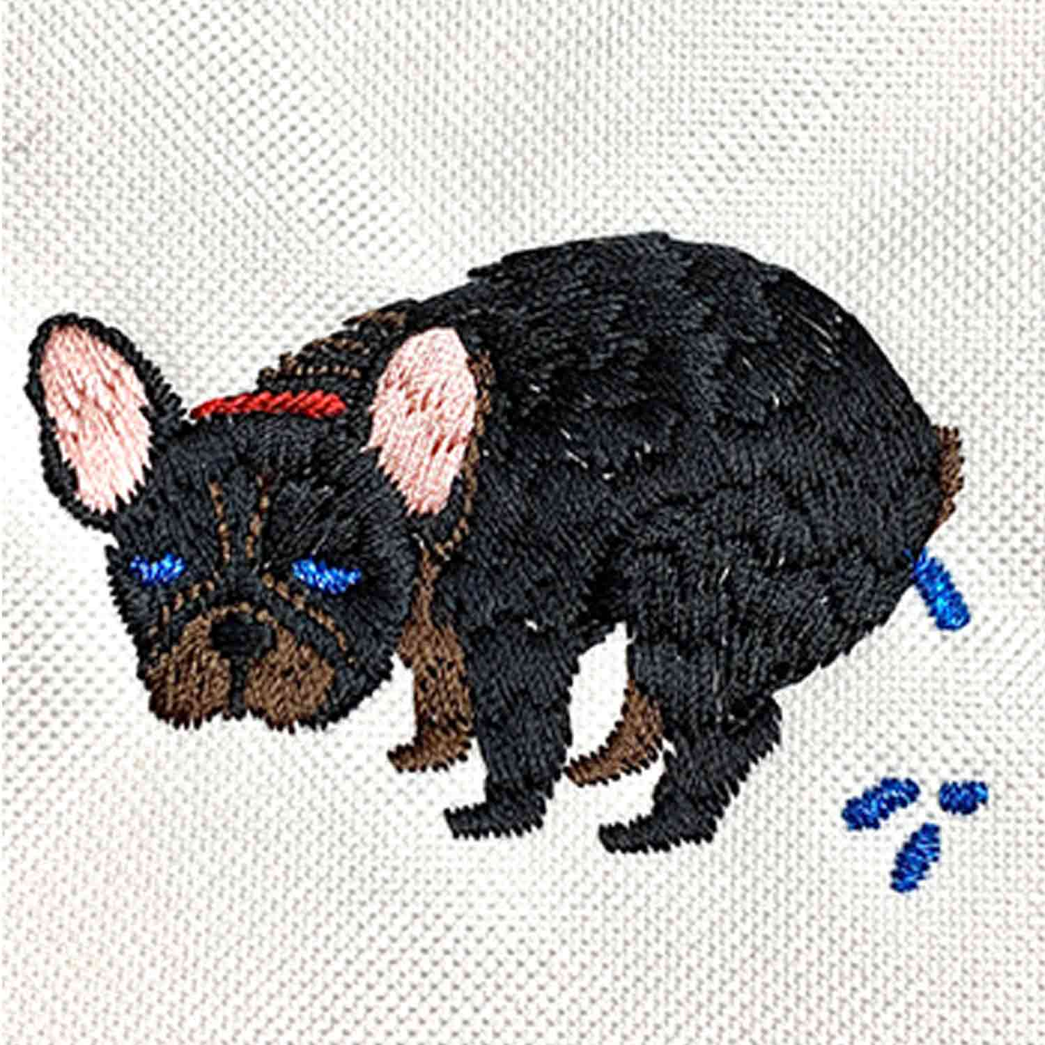F/B POOPING POUCH - BRINDLE