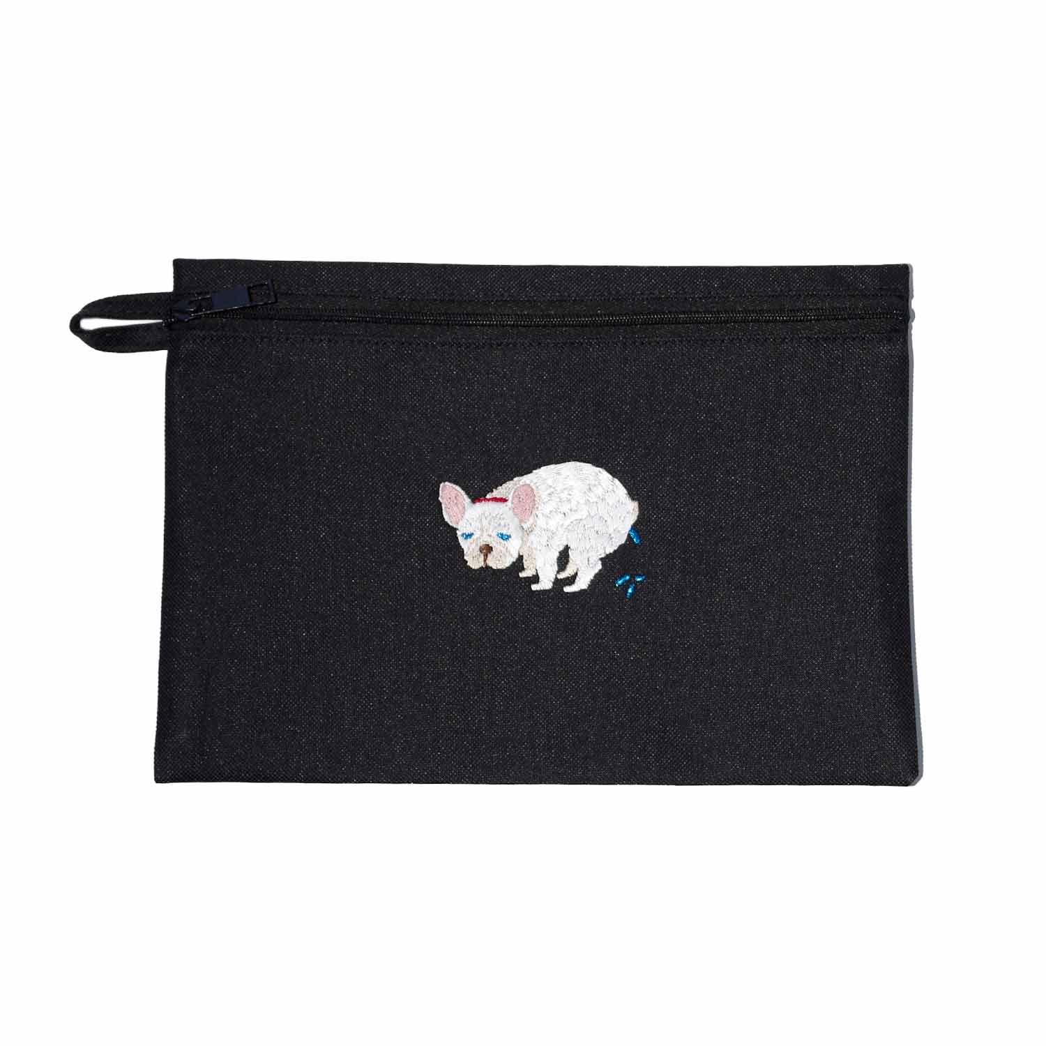 F/B POOPING POUCH -CREAM