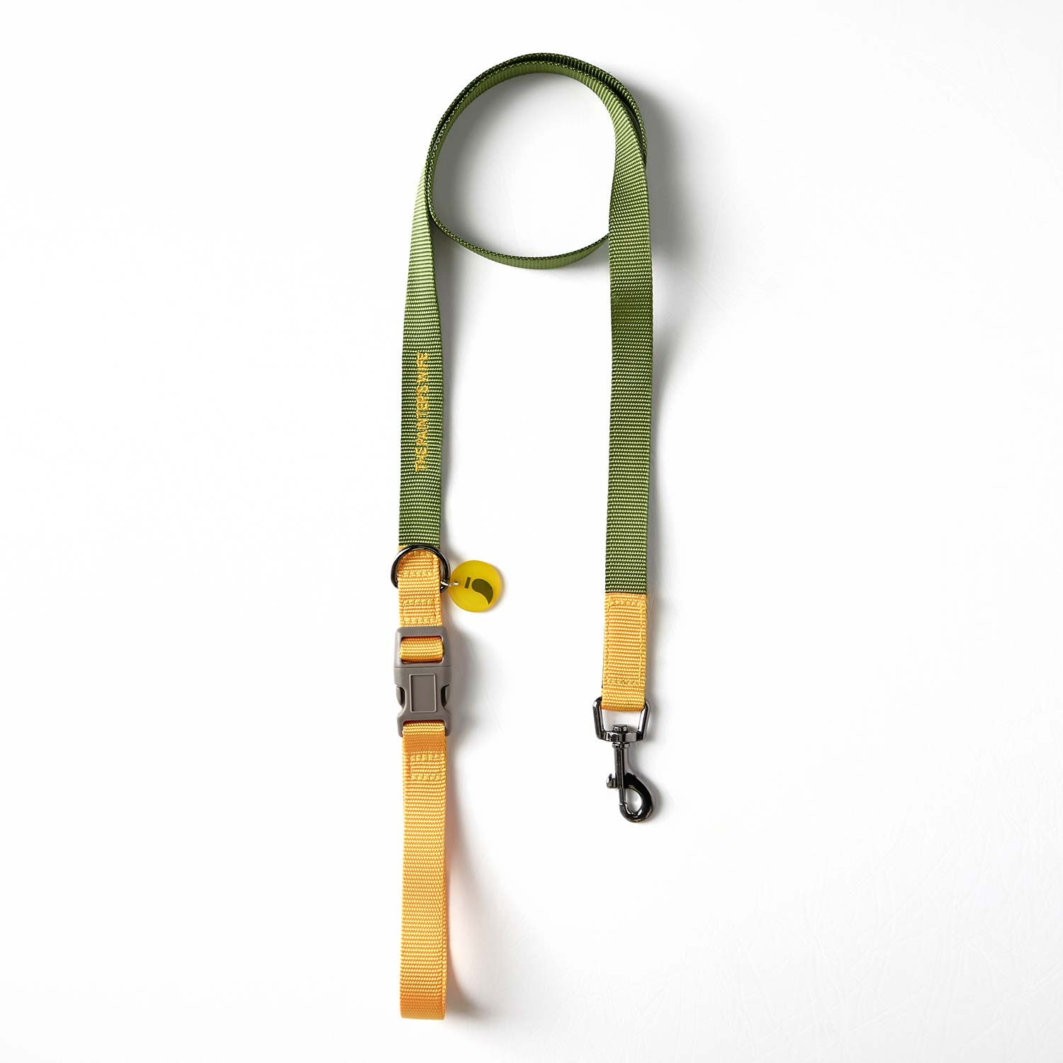 LEASH SONIA - KHAKI/YELLOW