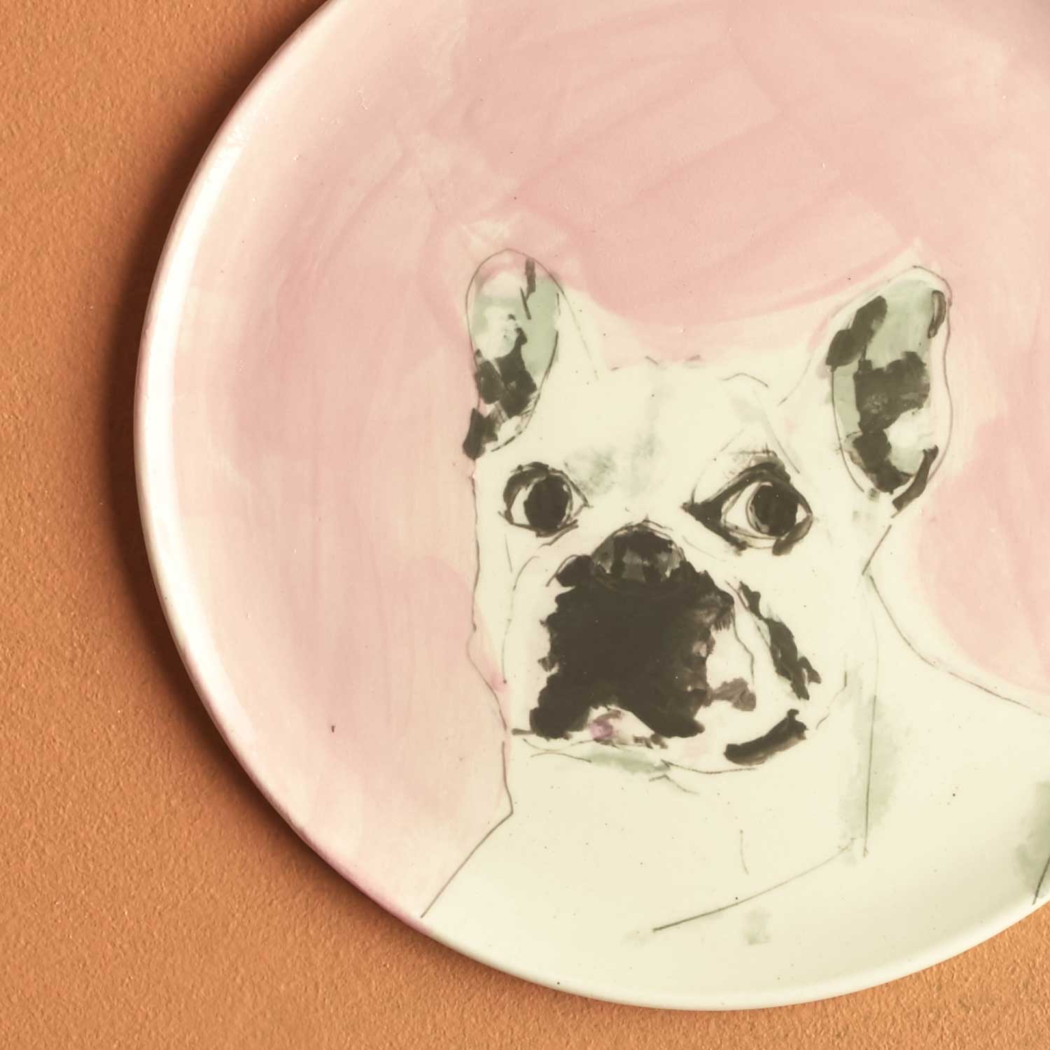 PLATE - FRENCH BULLDOG