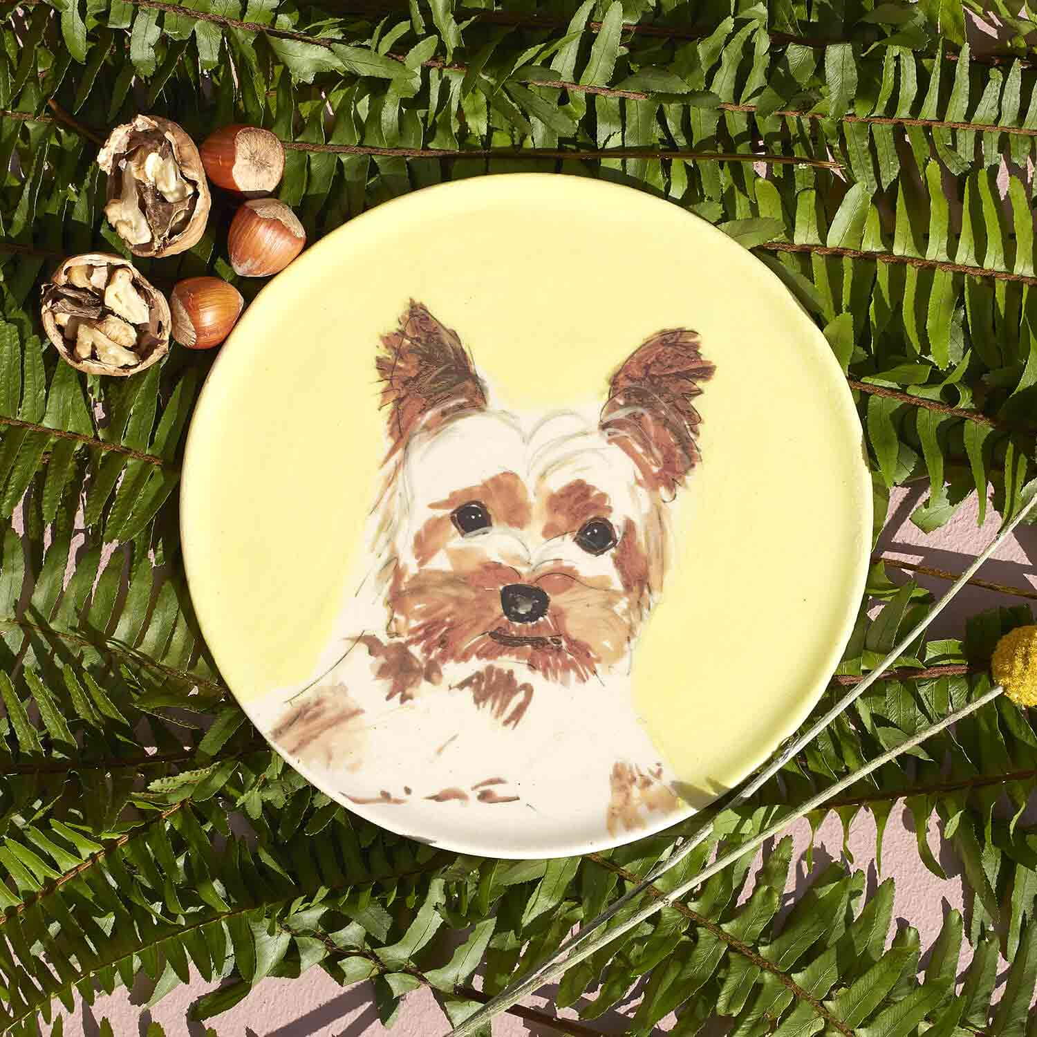 PLATE - YORKSHIRE TERRIER