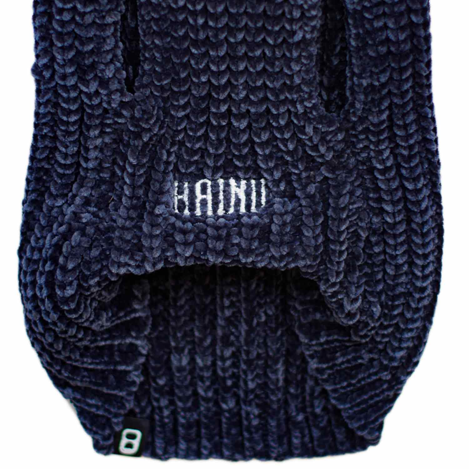 CHENILLE YARN SWEATER - BLACK