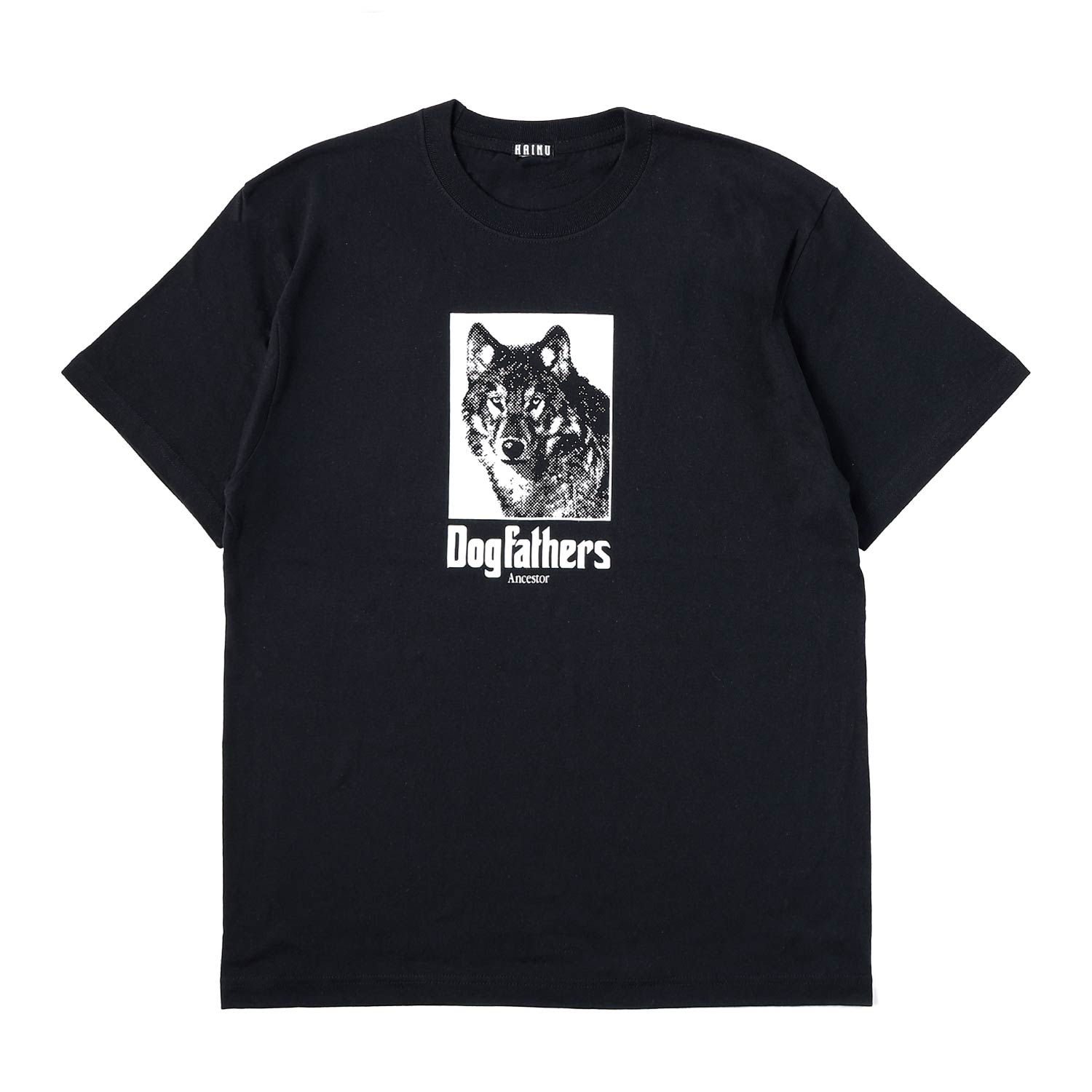 Dog Ancestors T-shirts  - BLACK
