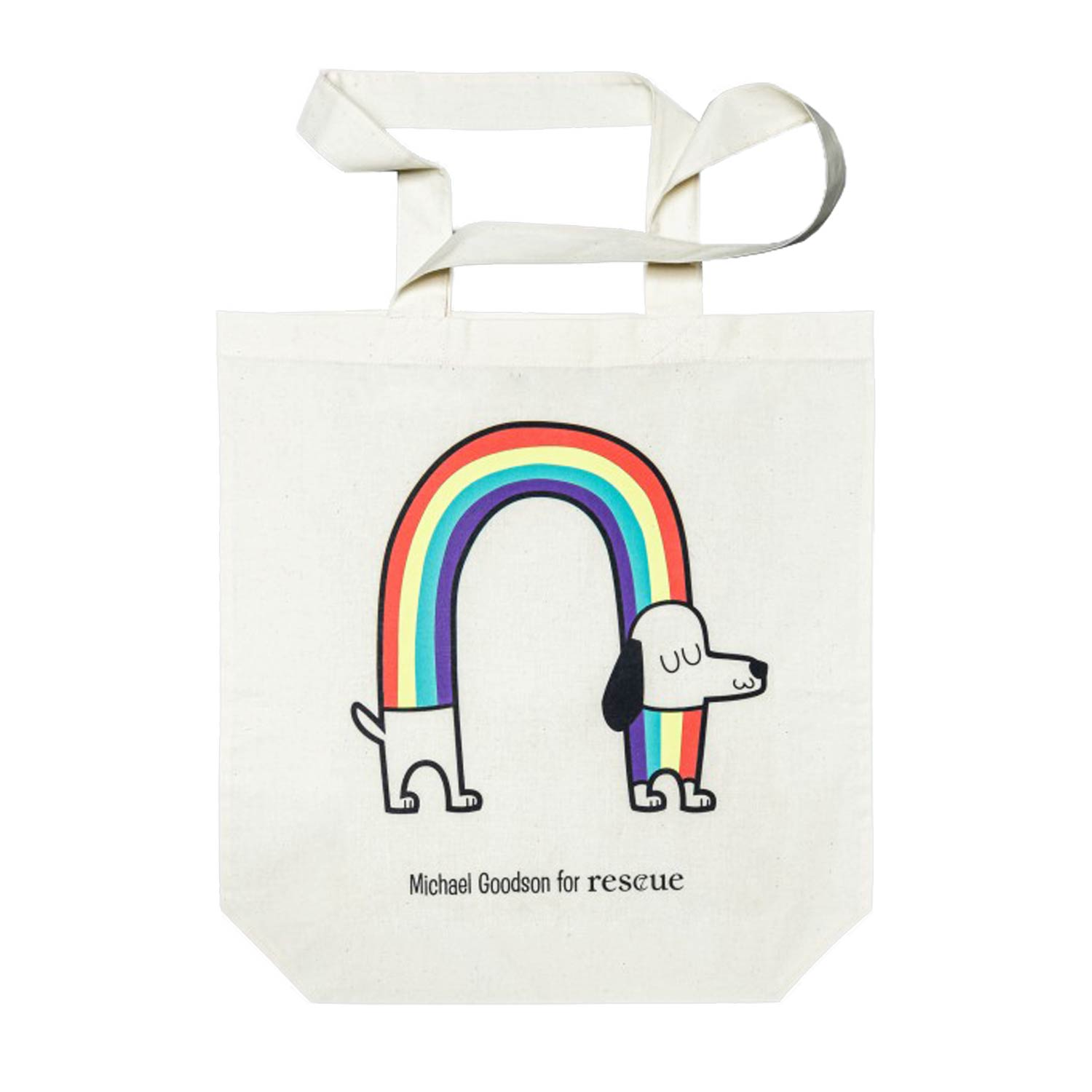 Resc7ue Tote Bag Rainbow