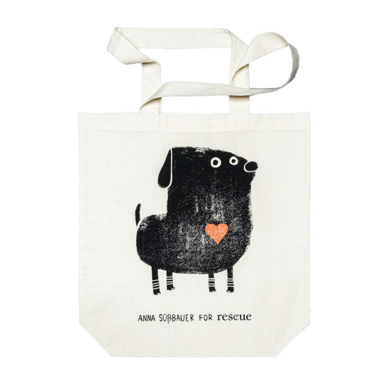 Resc7ue Tote Bag Heart