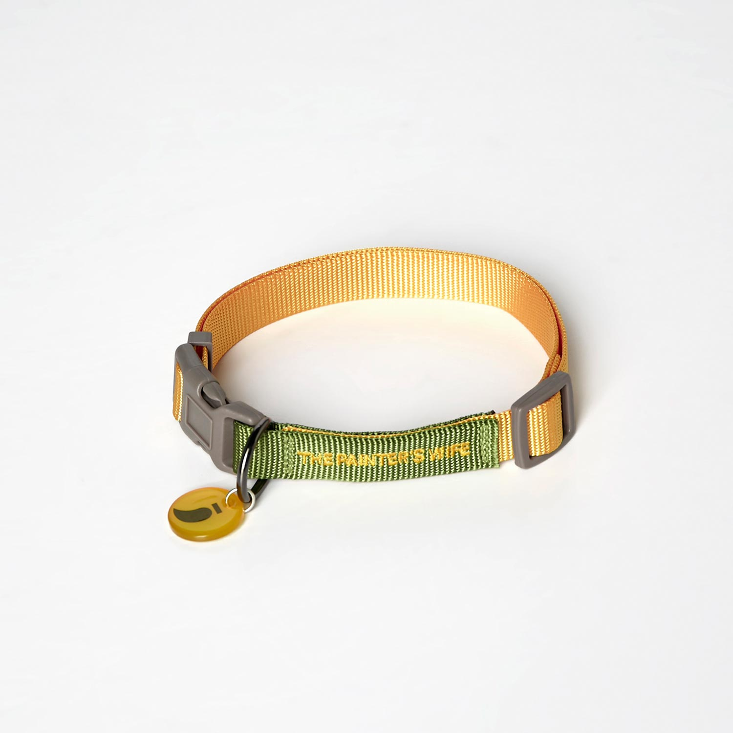 COLLAR SONIA - KHAKI/YELLOW