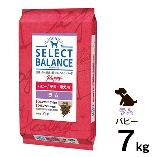 [正規品]セレクトバランス パピー ラム 小粒 子犬・母犬用 7kg