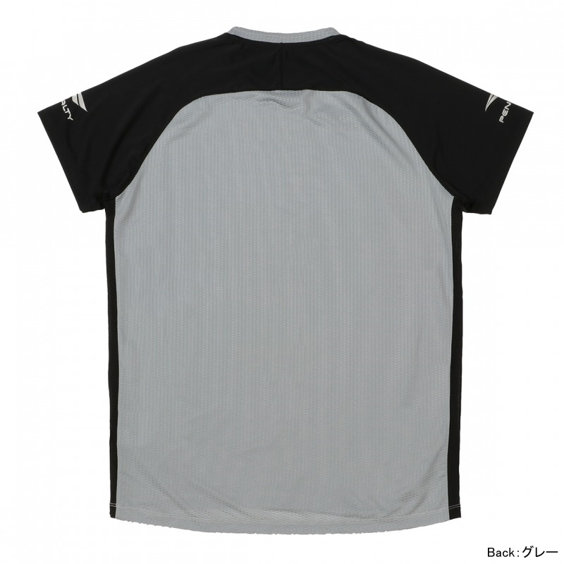 ドットメッシュプラシャツ