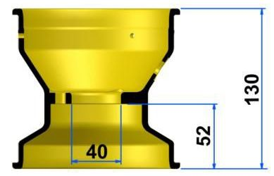 TECNOマグネシウムホィール<Rタイプ>フロント      カデットサイズあり