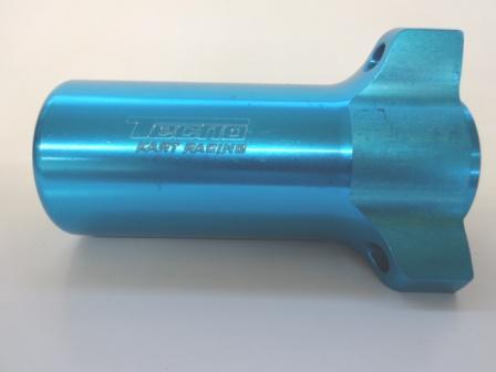 TECNOアルミφ17フロントハブ108mm