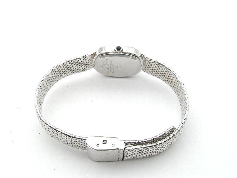 サンドス 腕時計 レディース シルバー