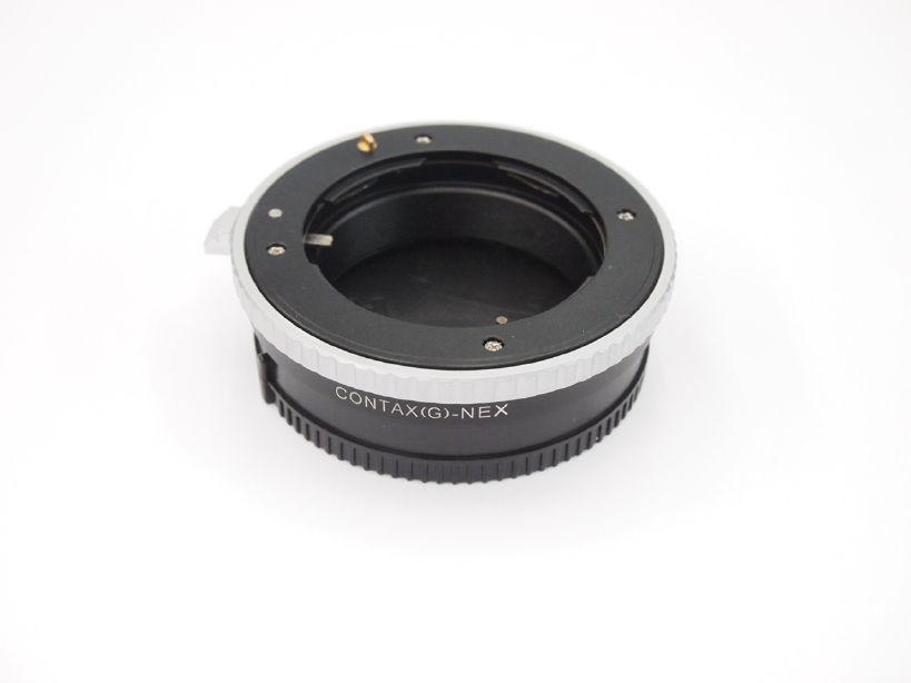 エレフォト ボディNEX-レンズコンタックスG マウントアダプター