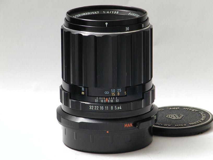 ペンタックス 67用SMCタクマー135/F4 マクロ