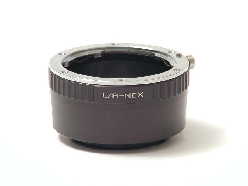 ボディNEX-レンズライカR マウントアダプター