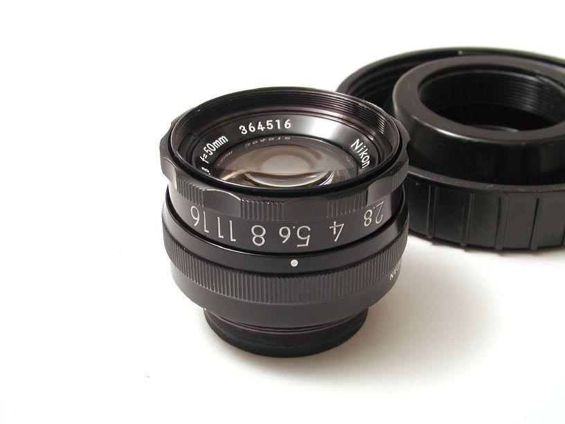 ニコン ELニッコール50/F2.8