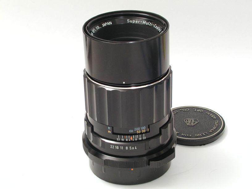 ペンタックス 67用SMCタクマー200/F4