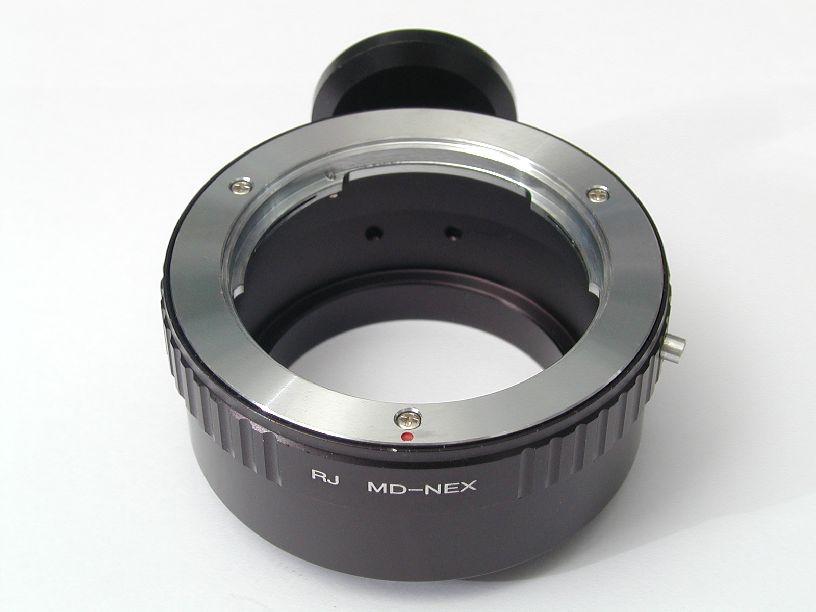 ボディNEX-レンズミノルタMD マウントアダプター
