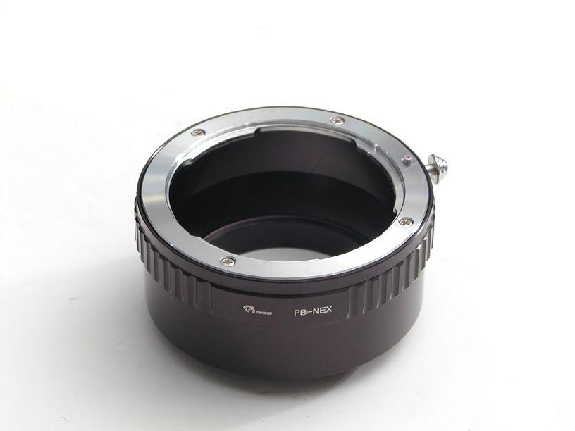Pixco ボディNEX-レンズプラクチカB マウントアダプター