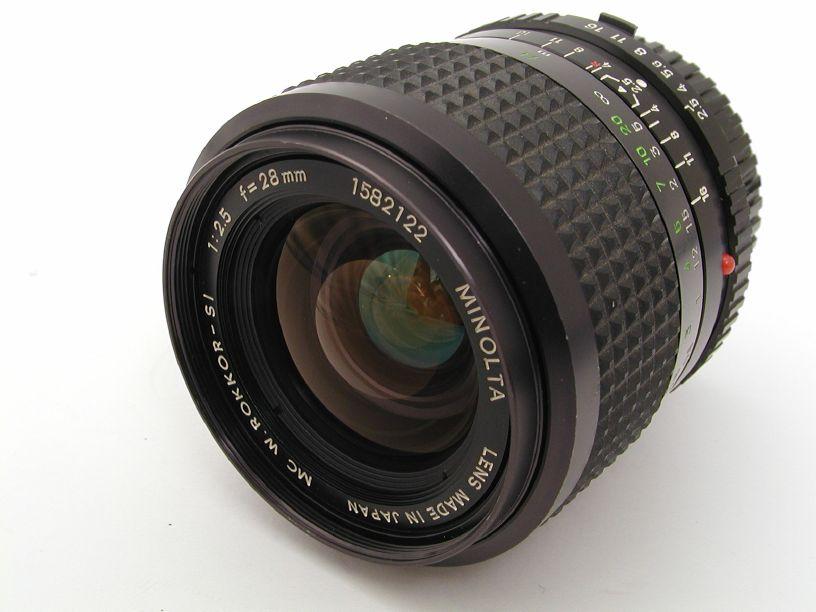 ミノルタ MC28/F2.5