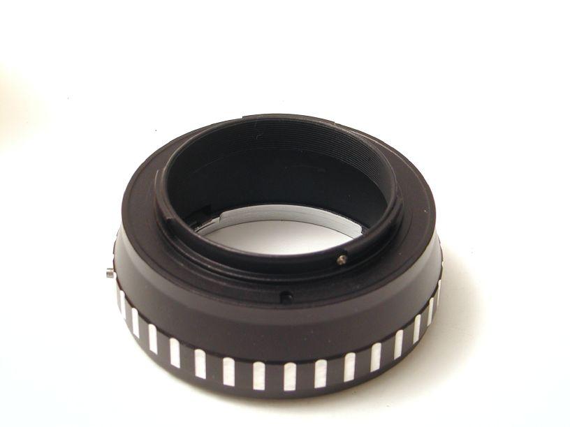 エレフォト ボディNEX-レンズコニカAR マウントアダプター