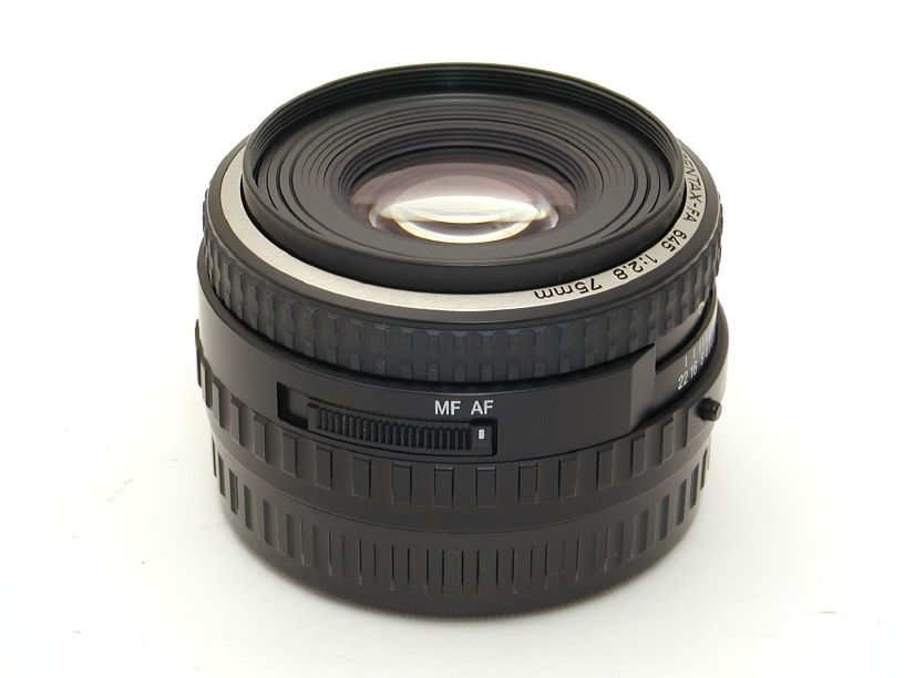 ペンタックス 645用FA75/F2.8