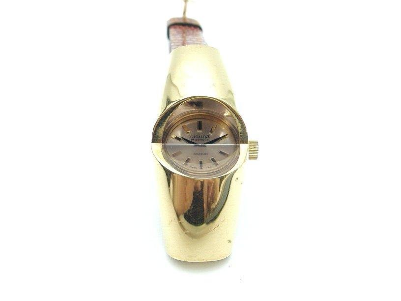 シクラ 腕時計 incabloc