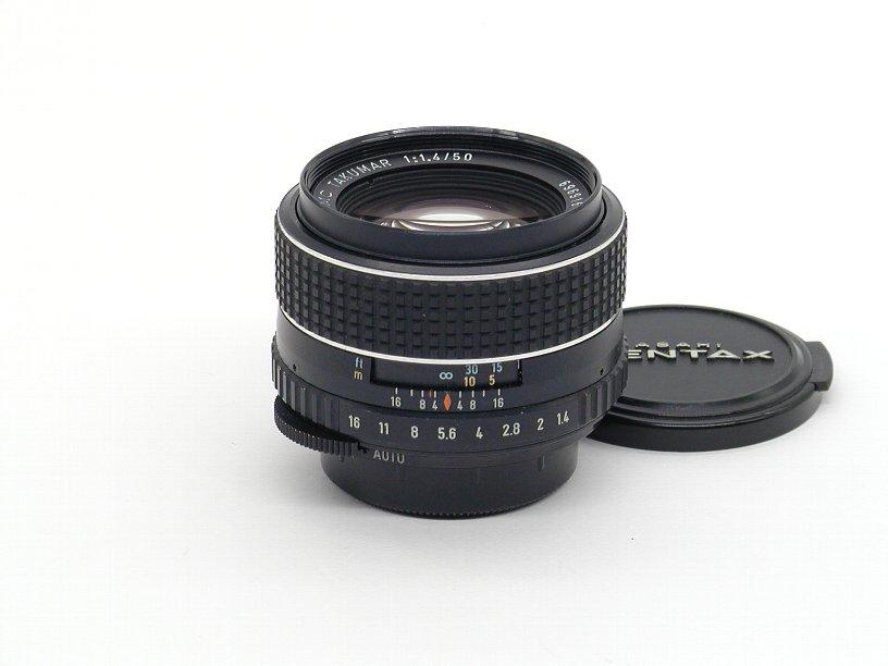 ペンタックス SMCタクマー50/F1.4