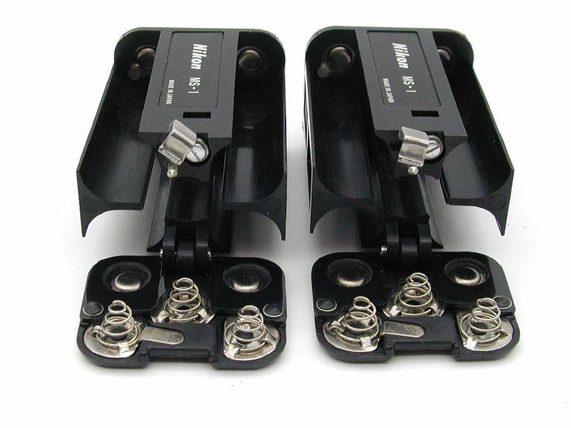 ニコン F2モータードライブ用バッテリーホルダー MS-1  2個