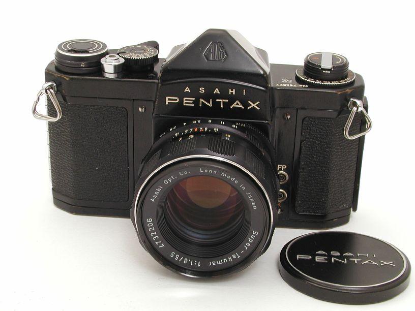 ペンタックス S2 スーパー ブラック+スーパータクマー55/F1.8