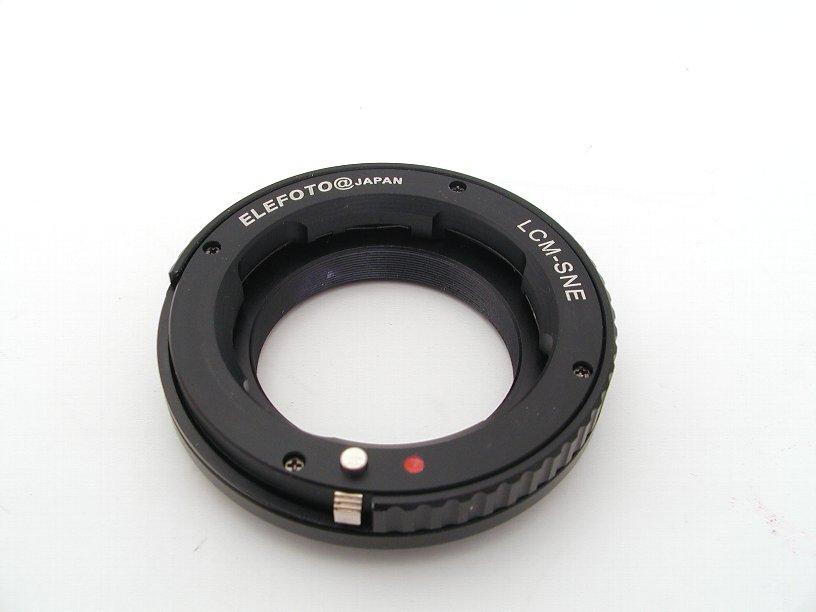エレフォト ボディNEX-レンズライカM マウントアダプター