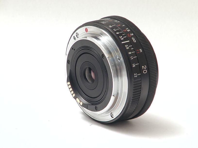 フォクトレンダー カラースコパー20/F3.5 SLII キヤノンEFマウント