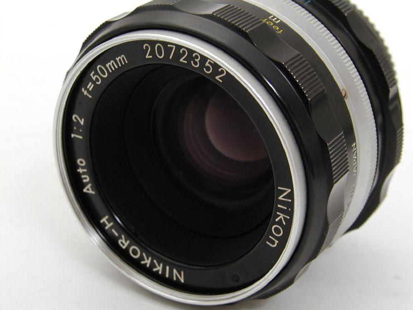 ニコン オートニッコールH50/F2