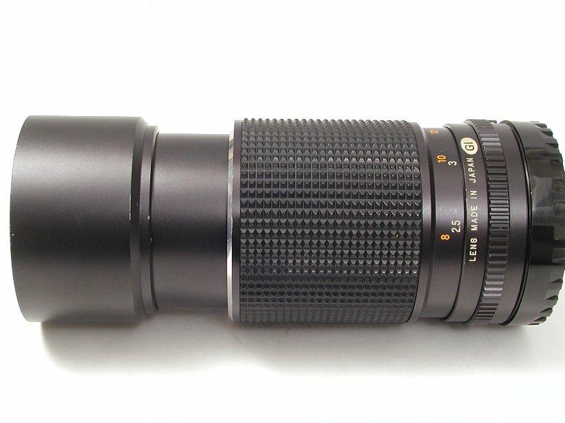 マミヤ 645用セコールC210/F4