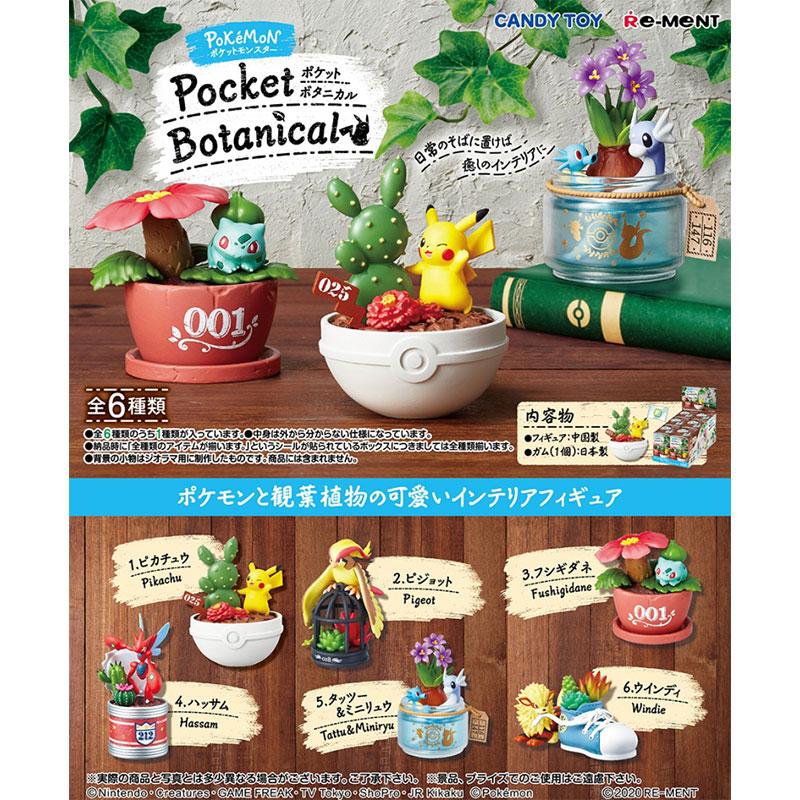 ポケットモンスター Pocket Botanical【コンプリートセット】(リーメント)