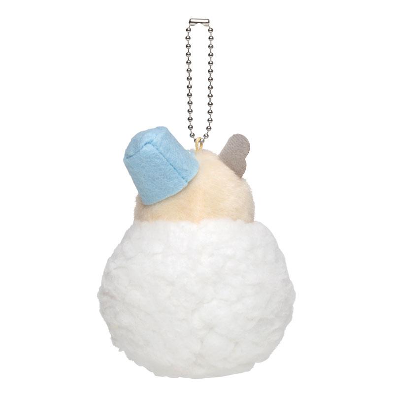 『助六の日常』 雪だるまマスコット