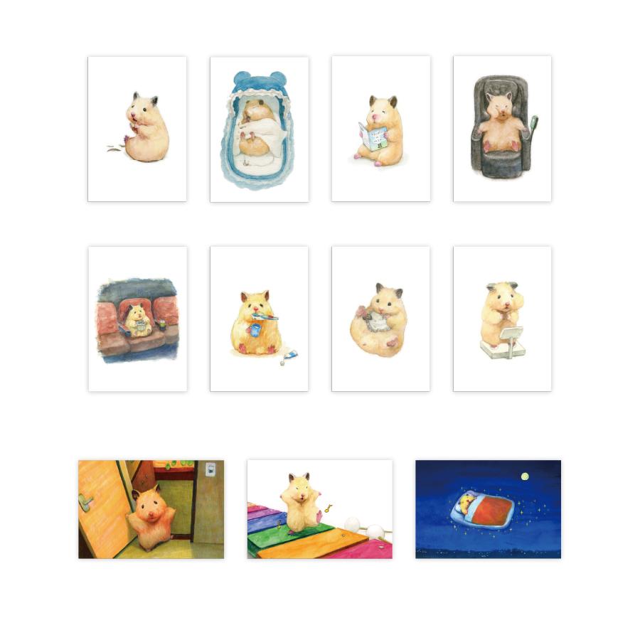 『助六の日常』ポストカード 11種(C)