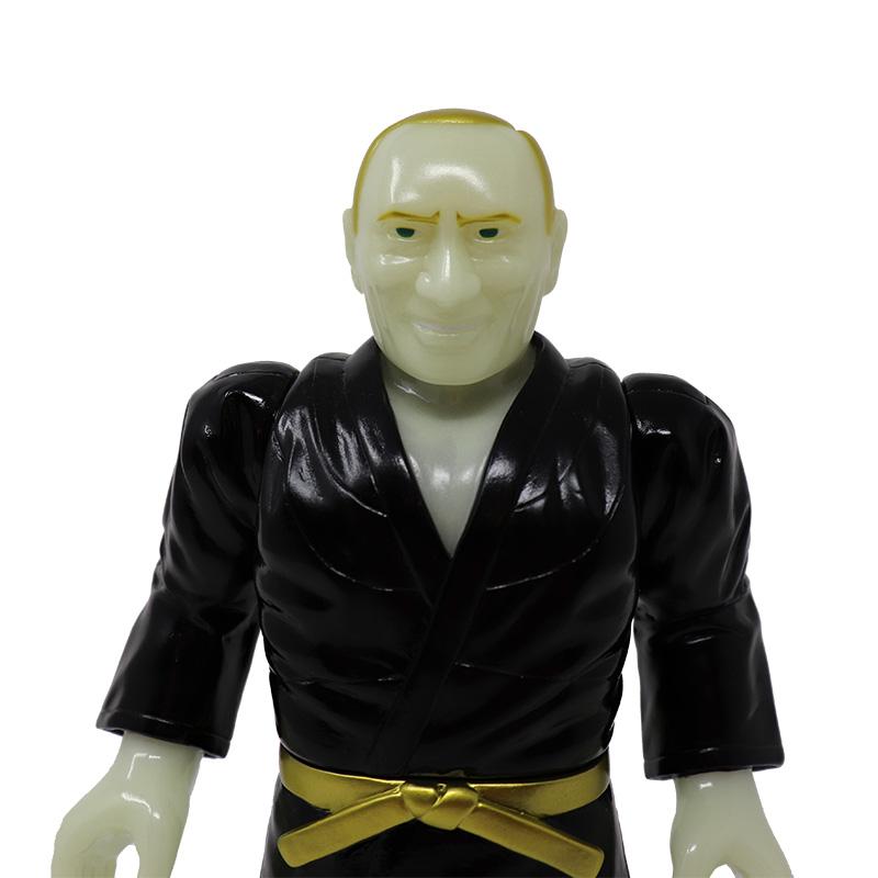 『ロシア人』 道着/黒(蓄光)