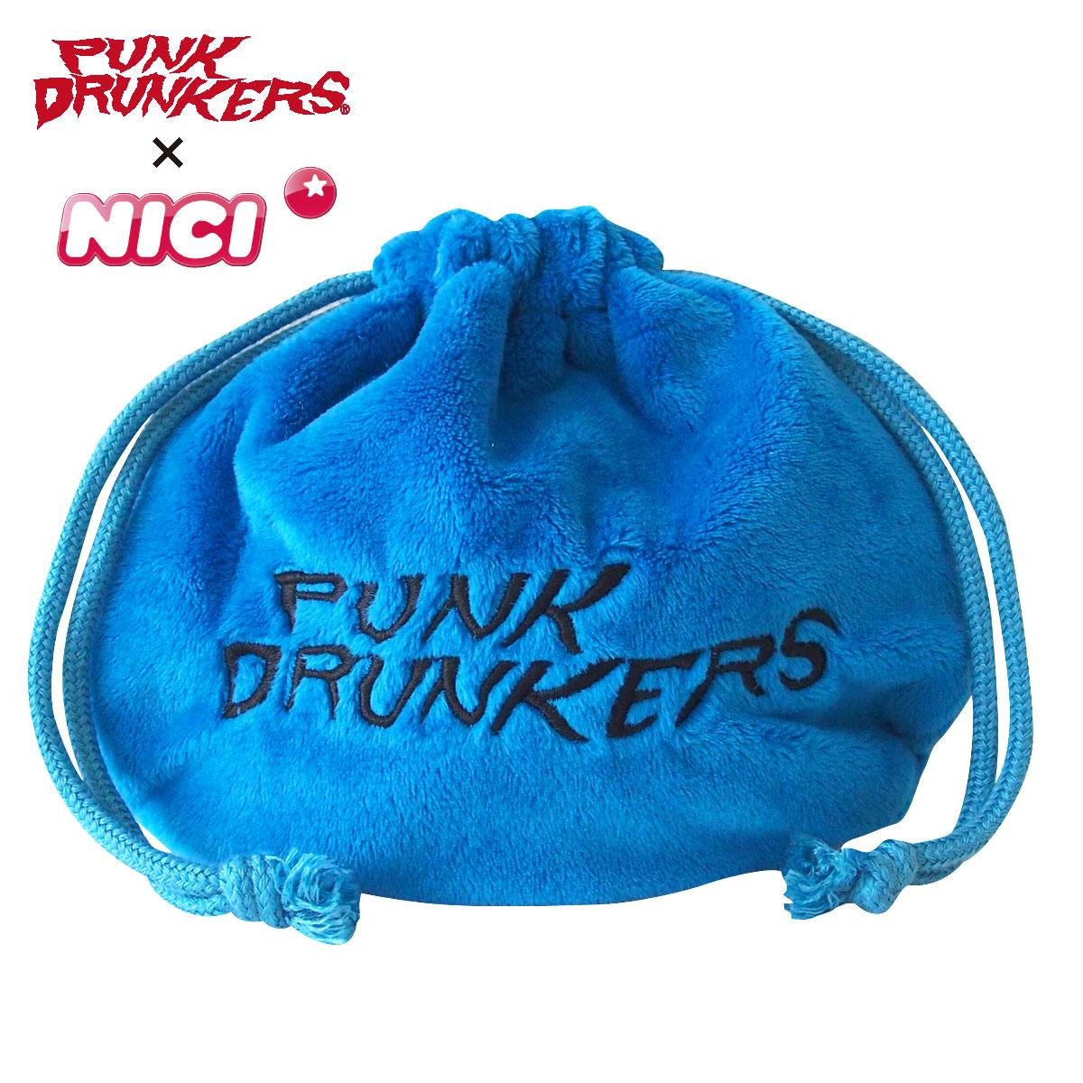 【PUNK DRUNKERSxNICI】フィギュアフェイスポーチ (鮫人)