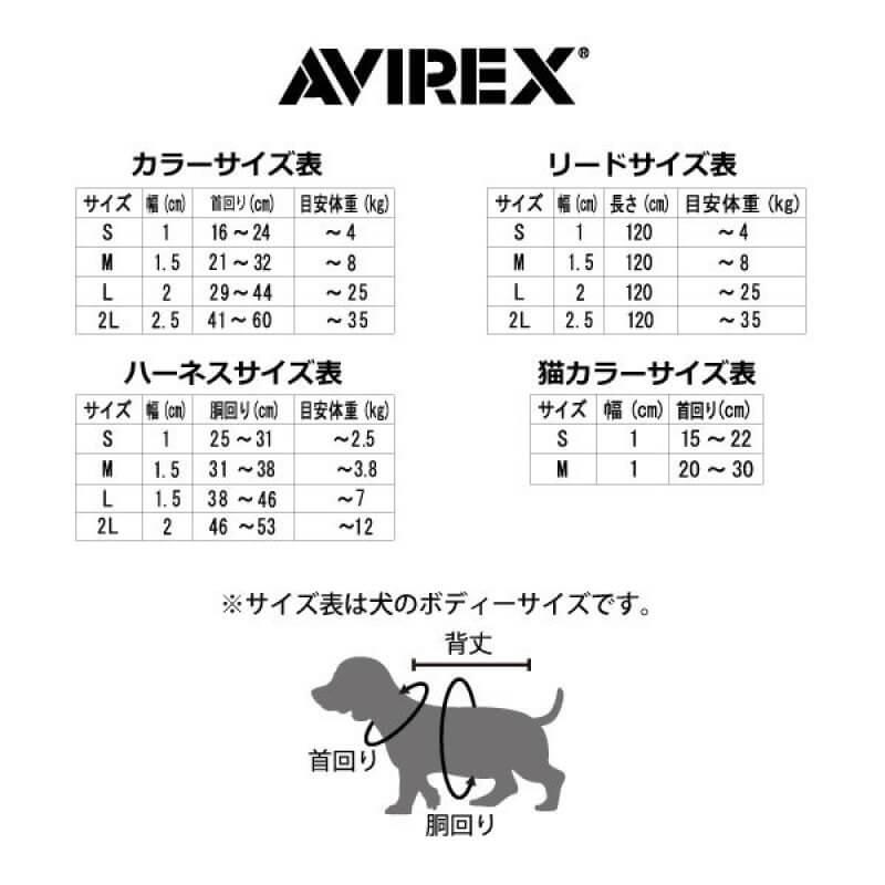 カラー【AVIREX】