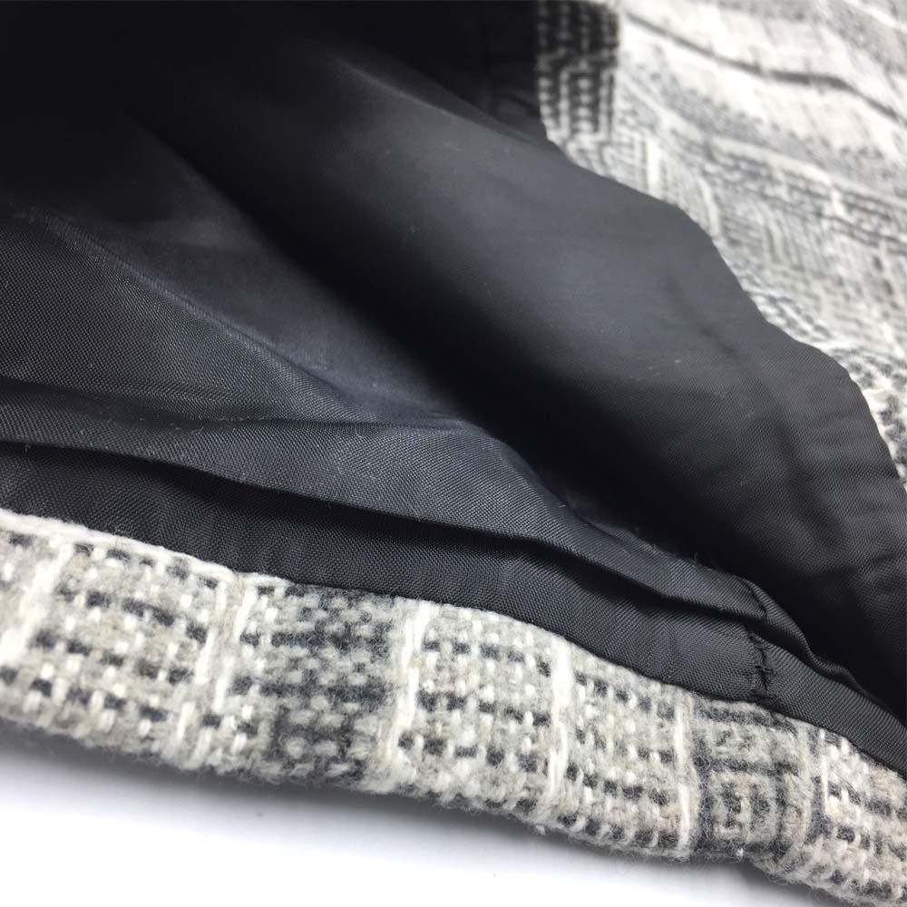 ミニスカート チェック スカート 秋冬 レディース ハイウエスト スカート 台形