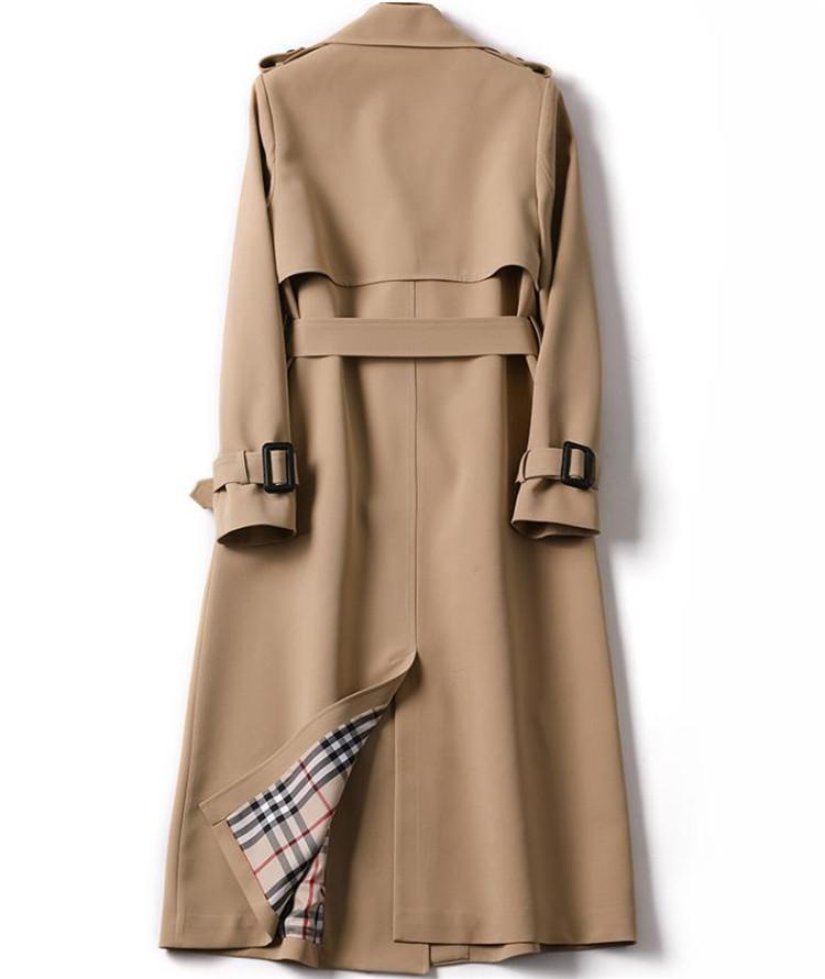 韓国ファッション トレンチコート 中・長セクション 初秋 新作  春 コート