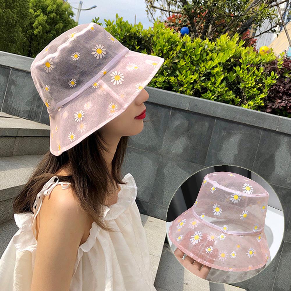 バケットハット レディース つば広 日よけ帽子 通気性 可愛い サファリハットUVカット 花柄