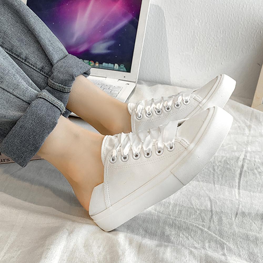 レディースシューズ キャンバススニーカー 美脚 歩きやすい 通勤 通学 韓国ファッション