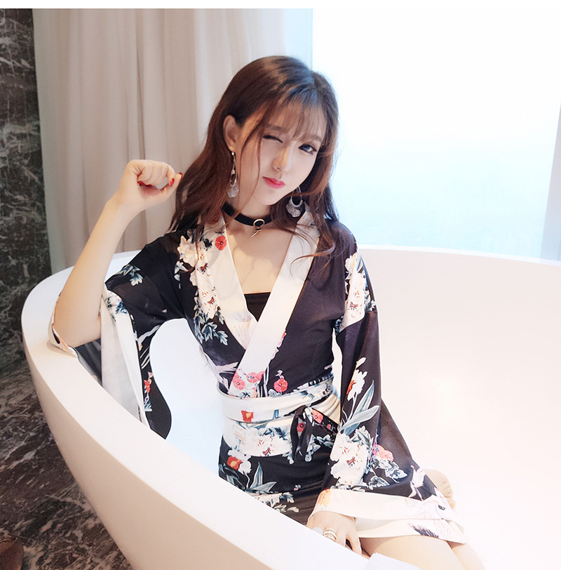 ミニ丈 セクシー 着物ドレス 浴衣  キャバドレス