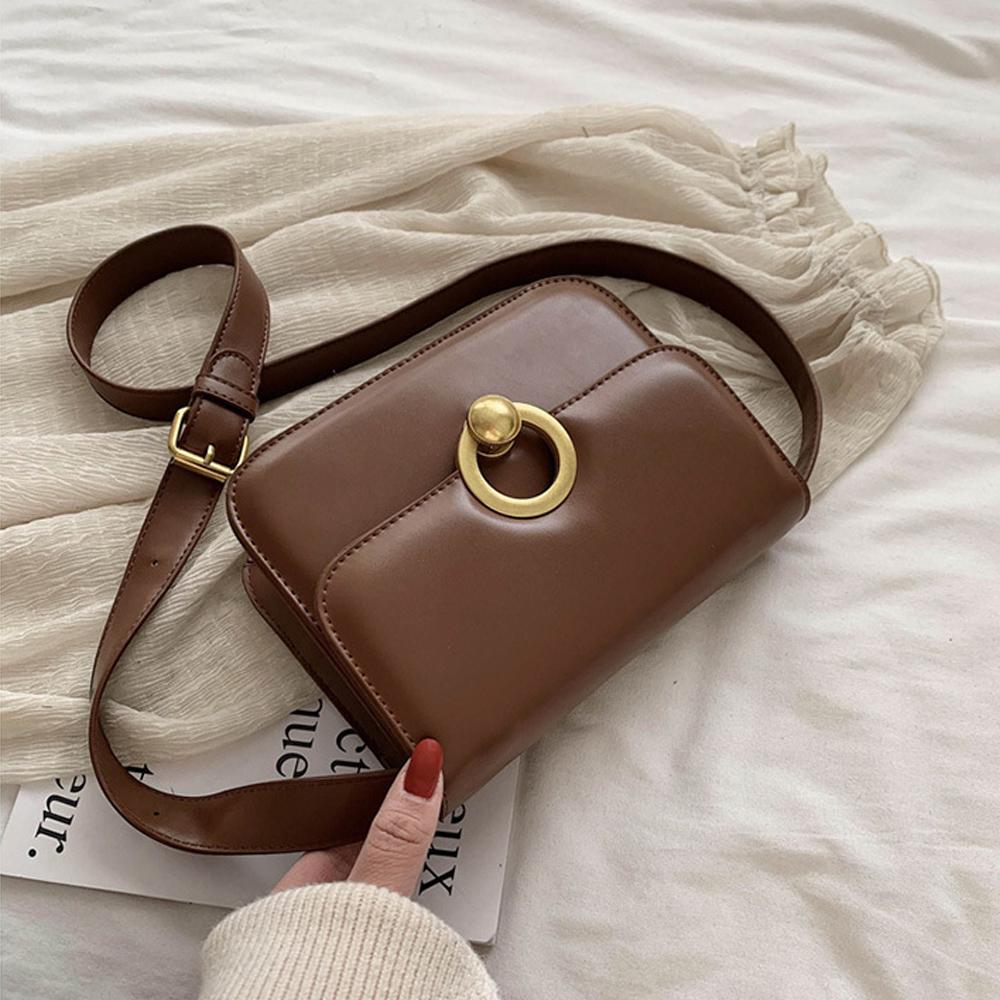 ショルダーバッグ レディース ミニバッグ 肩掛け 斜め掛け かばん PU レザー シンプル 鞄