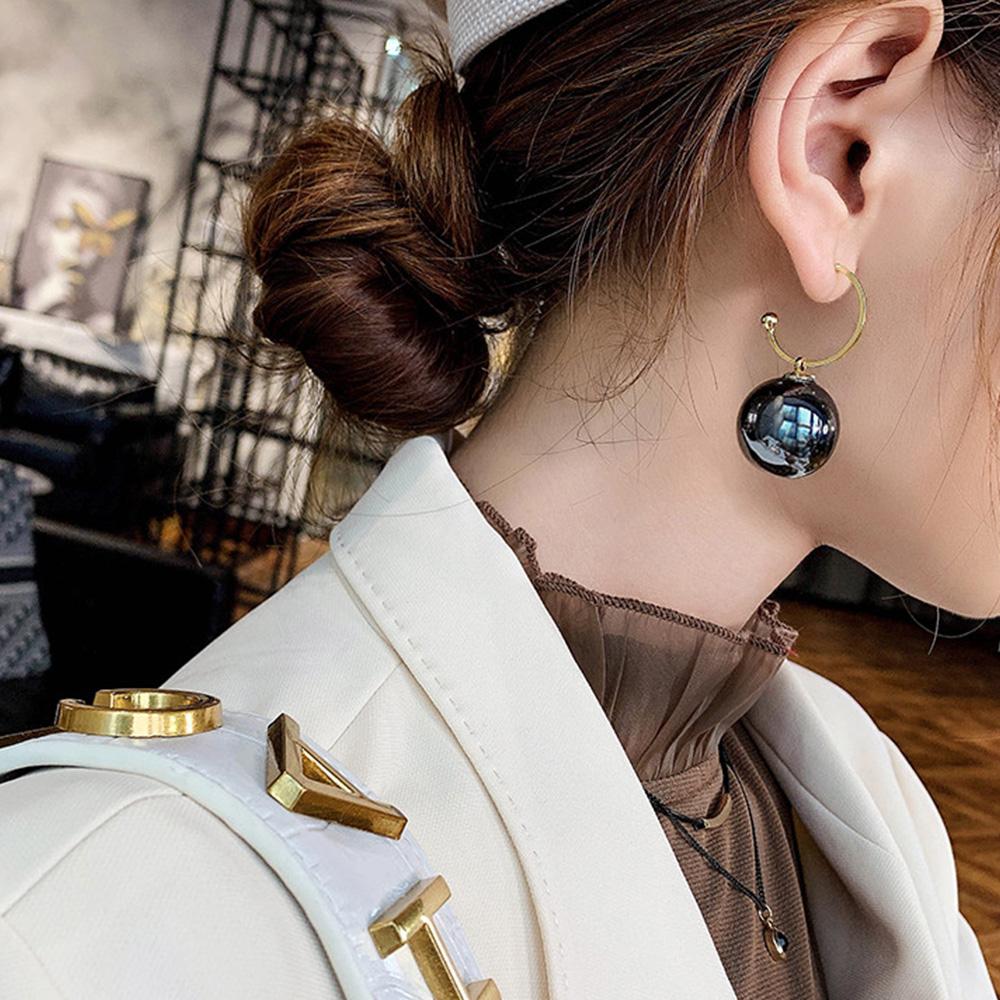 一粒 パールピアス レディース 大人っぽい アクセサリー 耳飾り フックピアス