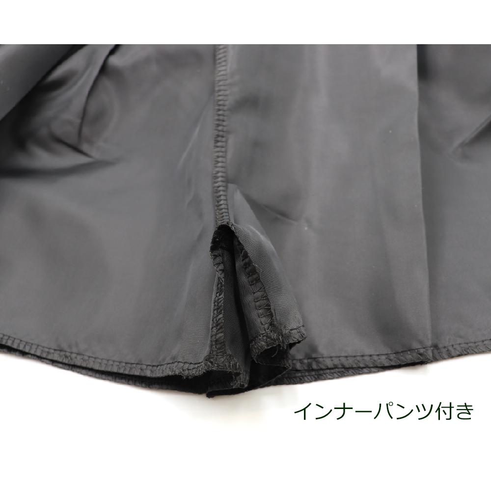 レザースカート インナーパンツ付き タイトスカート ハイウエスト ミニフェイクレザー