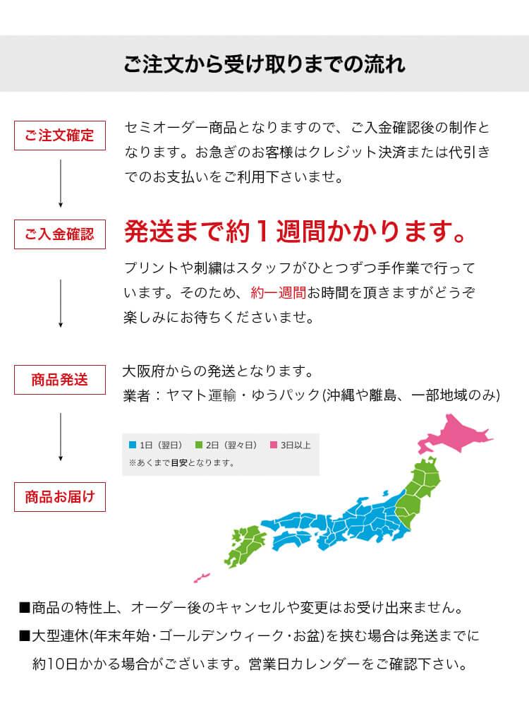 【ピンクちゃんちゃんこ専用】ちゃんちゃんこ刺繍オプション【日付け】
